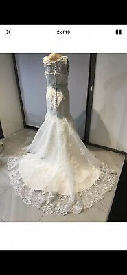AU400 • Buy White Wedding Dress Size 8