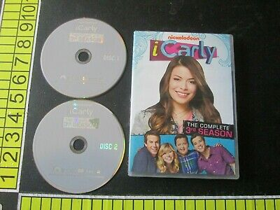 ICarly: The Complete 3rd Season (DVD, 2011, 2-Disc Set) • 5.79£