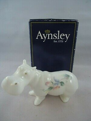£37.99 • Buy Aynsley Little Sweetheart Hippo Ornament Boxed Fine Bone China 1st Quality Rare