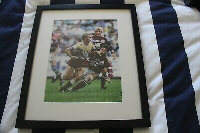 AU40 • Buy Allan Langer Personally Signed Rugby League Poster