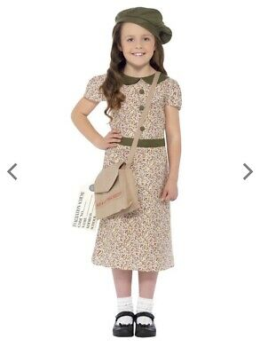 WORLD BOOK DAY - Smiffys WW2 Evacuee Girl Costume  • 2.10£
