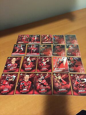 AU30 • Buy Signed Tap N Play Melbourne Renegades Cards X20