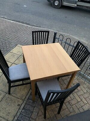 Dining Table And Chairs Used • 50£