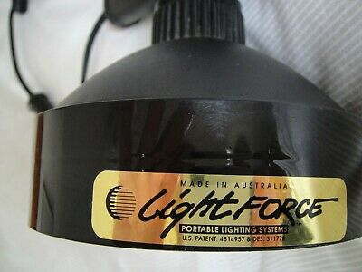 Genuine Lightforce Lamp With Curly Cord And Plug In Socket. • 80£