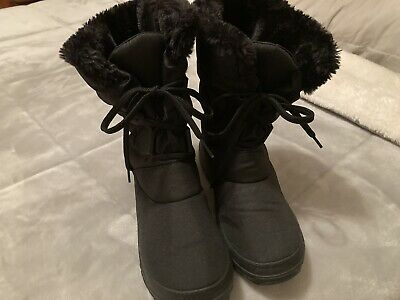 BNWT Ladies PAVERS Boots Black Warm Lined, Pull-on Size 5 (38) • 15£