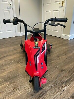 Razor Drift Rider With 3D Steering Kids Electric Scooter 3 Wheel Bike Trike- Red • 70£