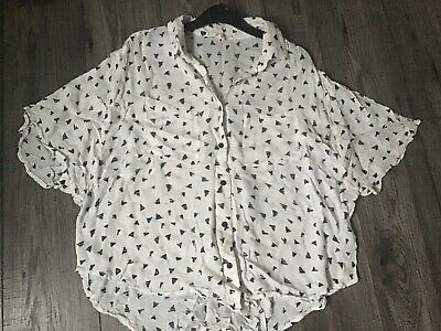 AU7.21 • Buy Urban Outfitters 'silence And Noise' Shirt Blouse Top. Small