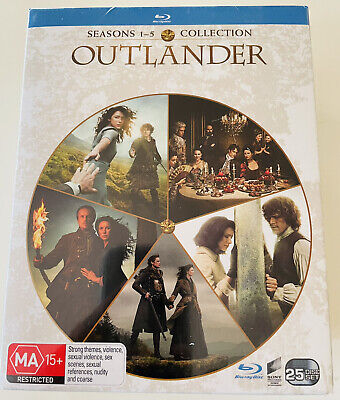 AU99.95 • Buy OUTLANDER Seasons 1-5 Box Set Blu-ray BRAND NEW SEALED