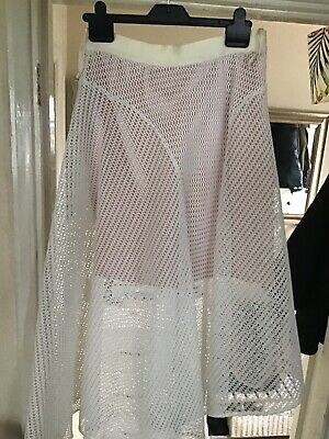 New Coast Net Evening Skirt Size 12. RRP £95 See Images • 19.99£
