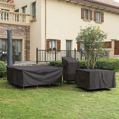 AU25.59 • Buy Outdoor Furniture Cover UV Waterproof Garden Patio Table Chair Shelter Protector