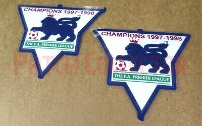 £9.99 • Buy F.A. Premier League Gold Soccer Patch / Badge 1997-1998 Arsenal Jersey