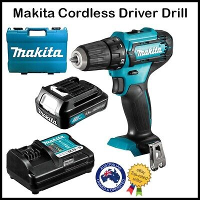 AU130.90 • Buy MAKITA Cordless Drill Driver Power Tool Combo Kit WITH BATTERY & CHARGER Set
