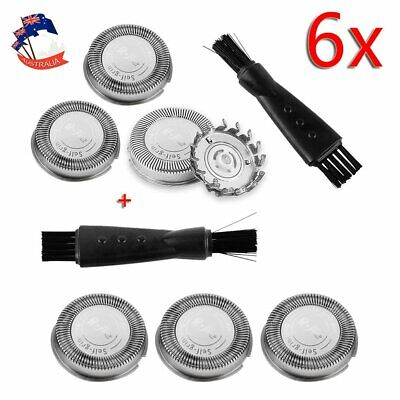 AU21.99 • Buy 6x Replacement Shaver Heads Razor Blades For Philips Series HQ30 HQ40 HQ55 HQ56