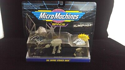 $ CDN11.39 • Buy MICRO Machines STAR WARS Collection 2 Galoob Vintage 1993 Vehicles Tie AT AT ESB