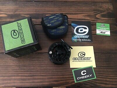 $ CDN265.80 • Buy NEW Cheeky Launch 350 For 4-6 Wt Fly Fishing Reel With Backing