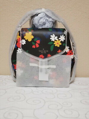 $ CDN149.13 • Buy 🌸nwt Kate Spade New York Lizzie Sailing Floral Med Flap Backpack Wkr00381