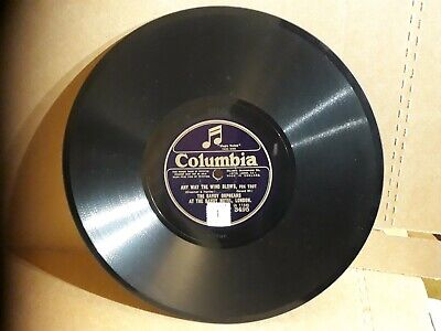 The Savoy Orpheans Any Way The Wind Blows 10 Inch 78 Record Can Do International • 7£