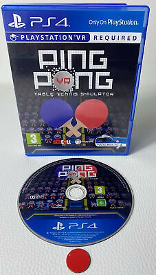 AU37.16 • Buy Ping Pong VR Table Tennis Simulator | Playstation4 PS4 Gebraucht In OVP Englisch