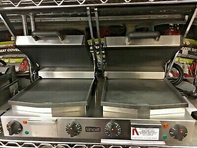 LINCAT Clamp Grill Double Panini Press Flat Contact Grill Commercial Catering • 379.99£