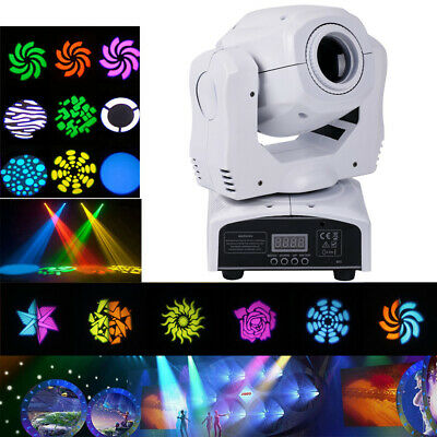 80W LED Beam Moving Head Stage Light Gobo RGBW DMX Disco DJ Party Lighting 2pcs • 229.99£