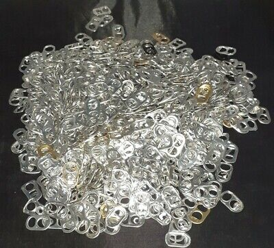 1000 + Can Ring Pulls. Arts Craft And Fashion Use. • 12£