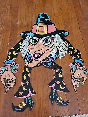$ CDN25.30 • Buy Look Vintage RARE With Halloween Decoration Made In The USA