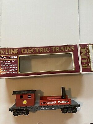 $29.99 • Buy K-line Trains -k-6855 Southern Pacific Classic Boom Car-  0/027- Boxed -