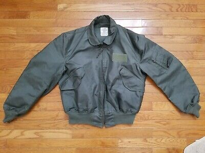 $ CDN69.61 • Buy Type CWU-36/P Flyers Jacket Summer Fire Resistant Size Extra Large 46-48.