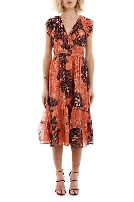 $ CDN334.59 • Buy Ulla Johnson Akira Dress Sz 8 NWT Coral