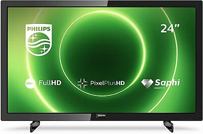 Philips 24PFS6805/12 24-Inch TV Full HD LED Pixel Plus HD HDR 10, Freeview • 179.99£