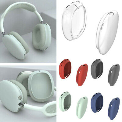 $ CDN5.43 • Buy For AirPods Max Bluetooth Headset Protective Case Wireless Silicone Sleeve Cover