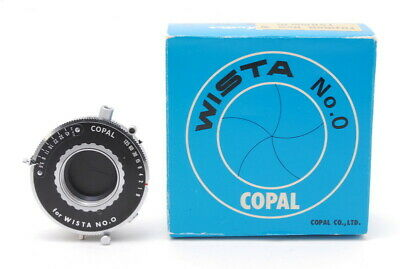 [Mint In Box]Copal Shutter For Wista No,0 4x5 Large Fomat Camera From Japan 1667 • 107.33£