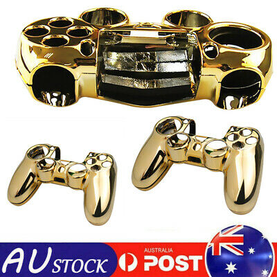AU12.89 • Buy Gold Hard Shell Case For PS4 Controller Cover Protective Anti Scratch