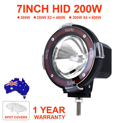 AU68.99 • Buy 7 Inch Round Led Driving Lights Hid Xenon Working Lamp Offroad 4WD ATV Spotlight