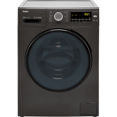£349 • Buy Haier HW100-B1439NS8 10Kg 1400 RPM Washing Machine Graphite A Rated New