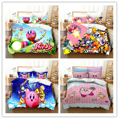 AU70.24 • Buy Kirby 3D Bedding Set Quilt Duvet Cover Groot Pillowcases