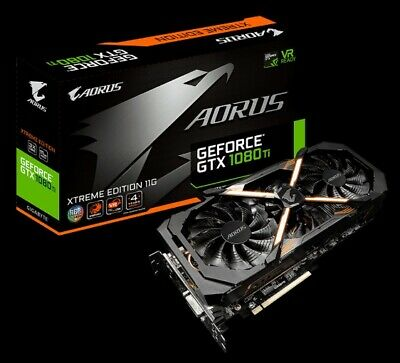 $ CDN1084.32 • Buy GIGABYTE  GV-N108TAORUS X-11GD AORUS GeForce GTX 1080 TI Xtreme Edition 11GB...