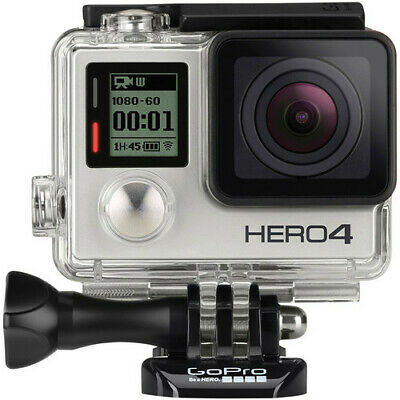 AU469.69 • Buy GoPro HERO4 HERO 4 Silver Edition Action Camcorder - CHDHY-401