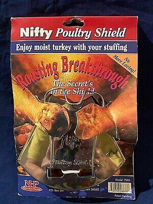 £6.64 • Buy Nifty Roasting Poultry Shield No More Lacing Your Bird