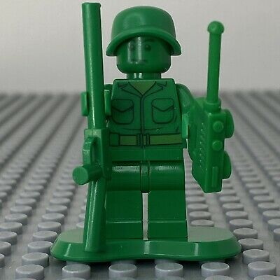 LEGO Toy Story Green Army Man Plain Minifigure From Sets 7595 - Toy001 • 4.99£