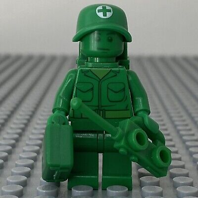 LEGO Toy Story Green Army Man Medic Minifigure From Sets 7595 - Toy002 • 4.99£