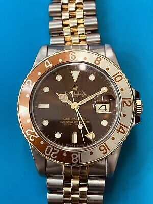 $ CDN14141.13 • Buy Rolex GMT Master Root Beer Ref 16753 Two Tone Vintage (689)