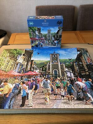 Keswick 1000 Piece Jigsaw Puzzle 2021 Release DONE ONCE • 4.50£