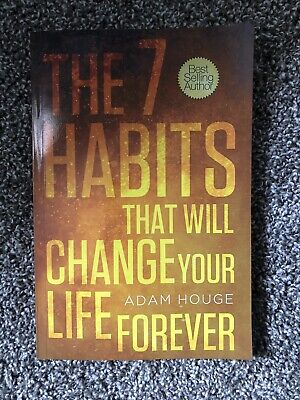 AU14.35 • Buy 7 HABITS THAT WILL CHANGE YOUR LIFE FOREVER By Adam Houge Like New