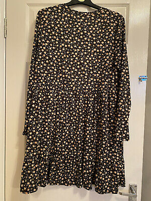 New Look Size 18 Floral Dress  • 4.20£