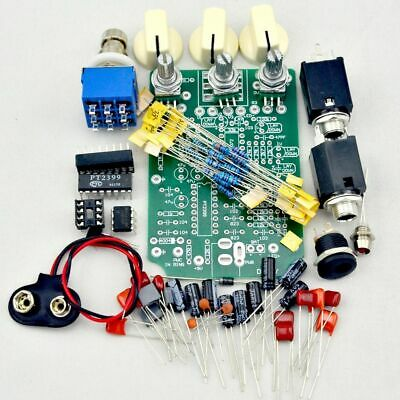 $ CDN66.30 • Buy Guitar Effects Pedal Kits Overdrive 9V Adapter Potentiometers Electric PCB Board