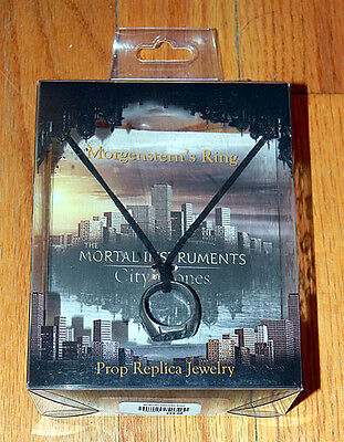 NEW In BOX Mortal Instruments MORGENSTERN'S RING Necklace SOLD OUT Prop Replica • 20.26£
