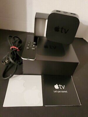 AU87.19 • Buy Apple TV 4th Generation 32GB Model A1625 - Black