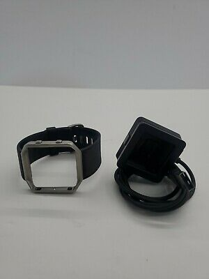 AU45.67 • Buy Fitbit Blaze Smart Fitness Watch Leather Bands With 1 Chargers