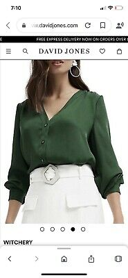AU27 • Buy Green Witchery Shirt Soze 10 Worn Once